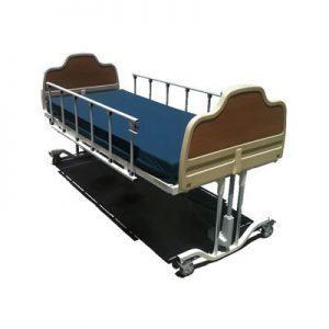Bed Hi Lo safety rails site