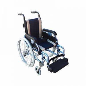 Childrens paediatric alum wheelchair